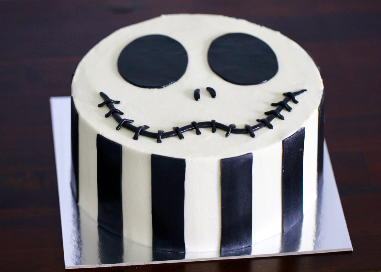 The Nightmare Before Christmas Cake The Baking Angel